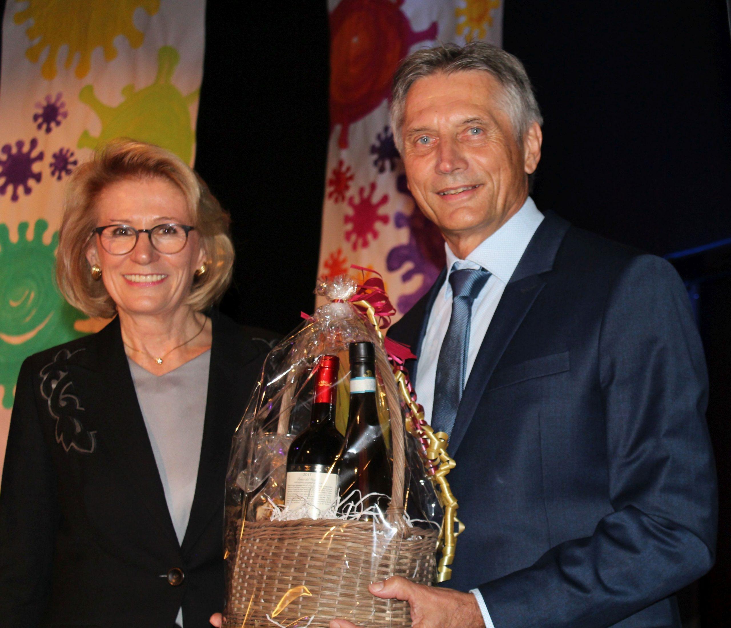 Festakt zur Verabschiedung des Sonderschulrektors Frank Kuroschinski