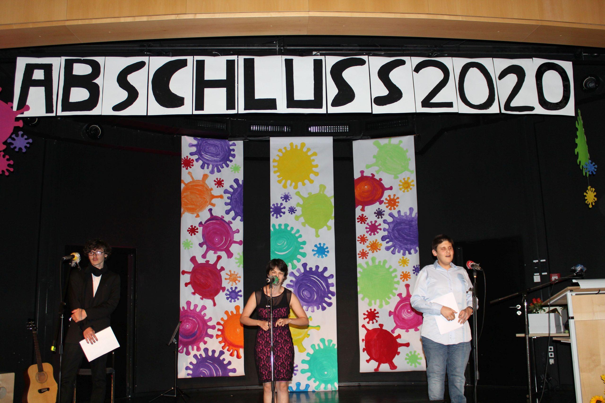 Abschlussfeiern im besonderen Jahr 2020